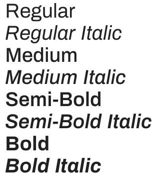 archivo font